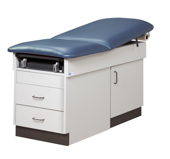 Family Practice Table with Storage by Clinton Industries