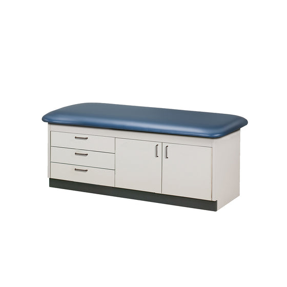 Cabinet Style Treatment Table with Drawers & Doors with Flat Top by Clinton Industries
