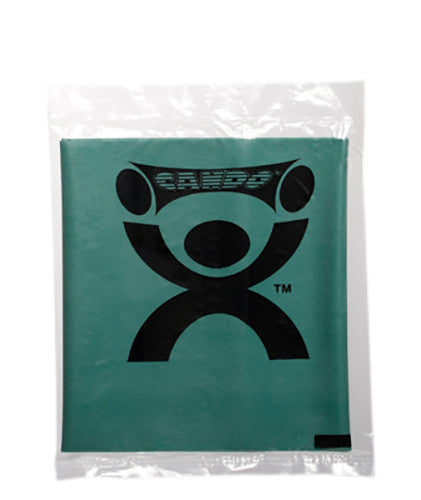 CanDo Light Powder Exercise Band - 4' - Green - Medium