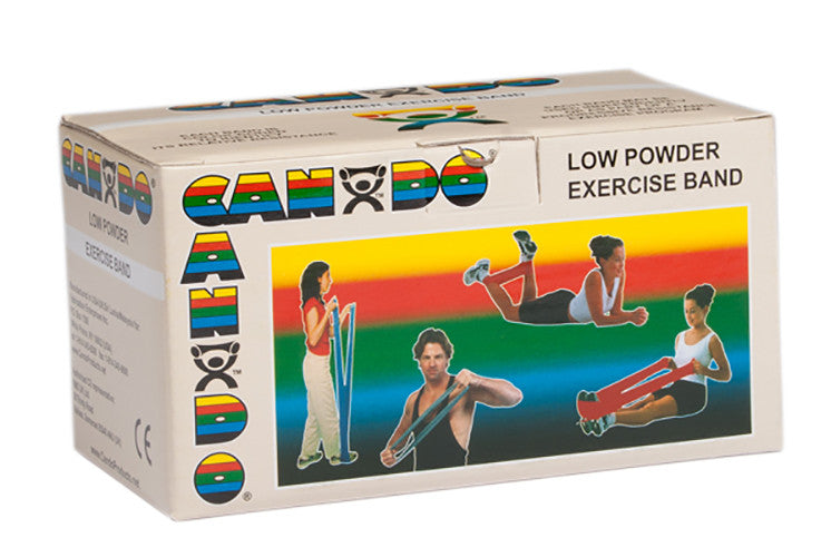 CanDo Light Powder Exercise Band - 6yd - Tan - XX-soft