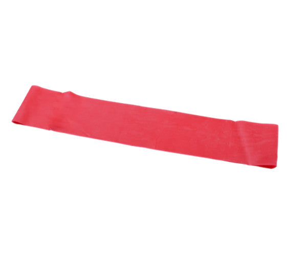 "CanDo Preformed Exercise Loop - 15"" - Red - Soft"