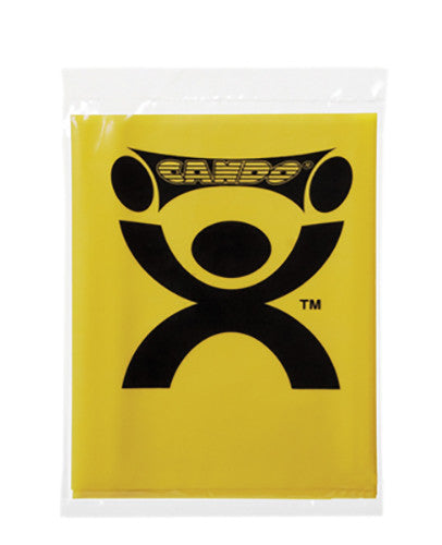 CanDo Non-Latex Exercise Band - 4' - Yellow - X-soft