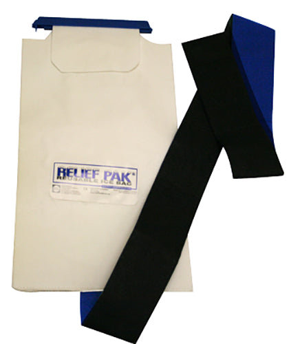 Relief Pak Insulated Ice Bag with Hook/Loop Band