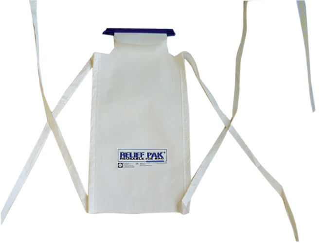 Relief Pak Insulated Ice Bag with Tie Strings