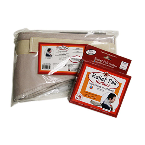 HotSpot Moist Heat Pack and Cover Set Neck Pack
