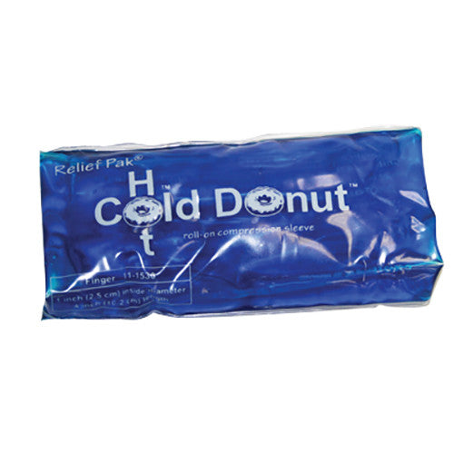 Relief Pak Cold n' Hot Donut Compression Sleeve - Finger