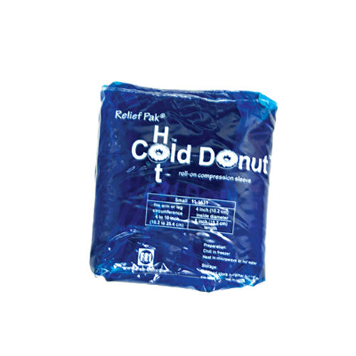 Relief Pak Cold n' Hot Donut Compression Sleeve - Small