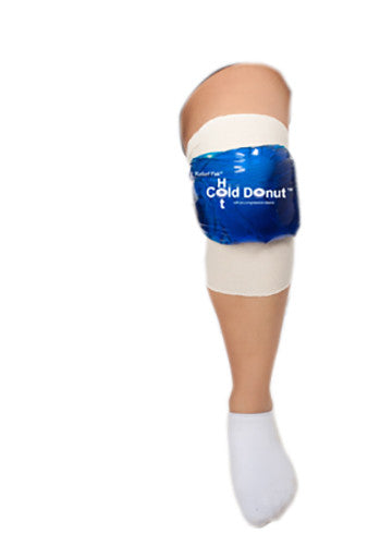 Relief Pak Cold n' Hot Donut Compression Sleeve - Large