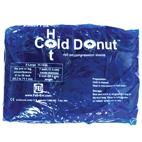 Relief Pak Cold n' Hot Donut Compression Sleeve - Extra Large