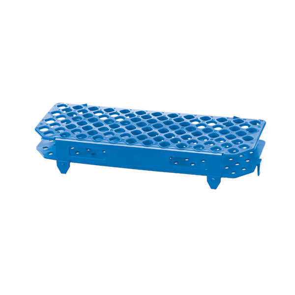 100-Place Microcentrifuge Tube Rack - Blue