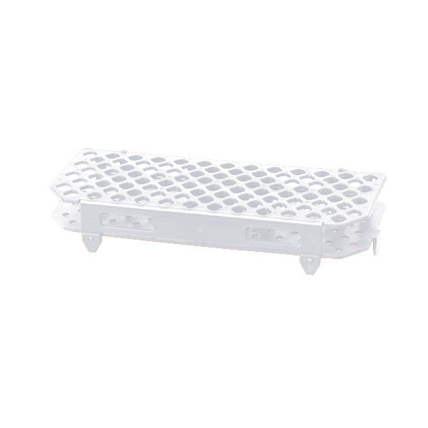 100-Place Microcentrifuge Tube Rack - White