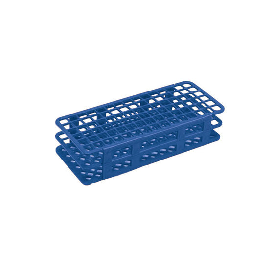 90-Place Tube Rack for 13mm Tubes - Blue