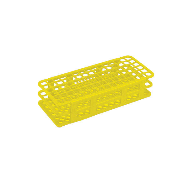 90-Place Tube Rack for 13mm Tubes - Yellow