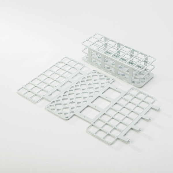 24-Place Tube Rack for 30mm Tubes - White
