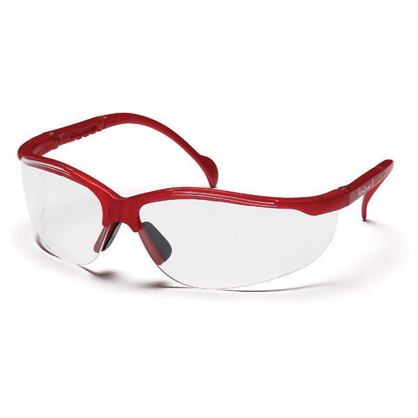 Venture II Safety Glasses - Maroon