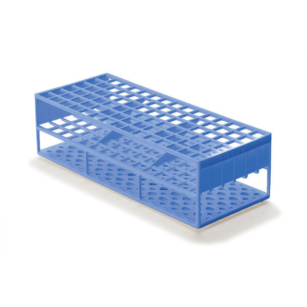 Laboratory Test Tube Racks for 13mm Test Tubes - Blue