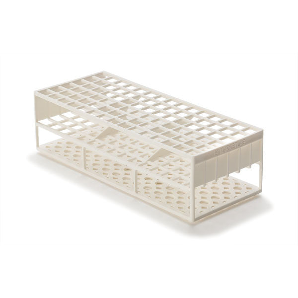 Laboratory Test Tube Racks for 13mm Test Tubes - White