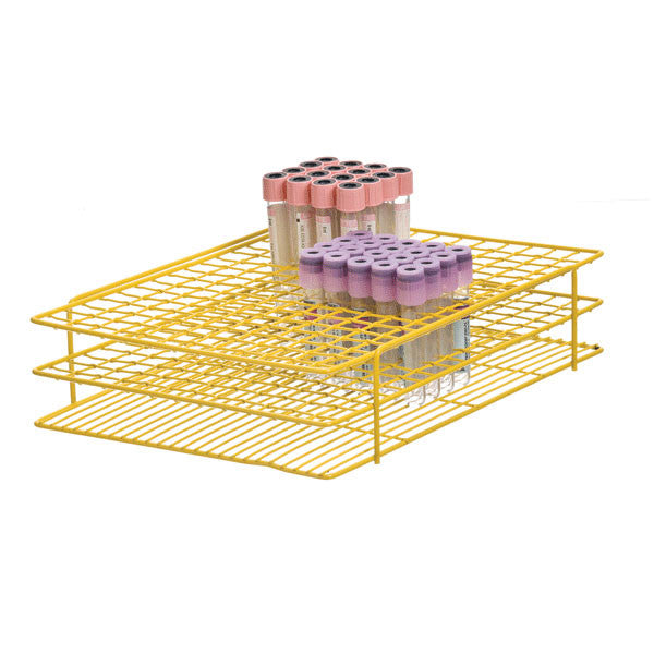 Jumbo Wire Tube Racks - Yellow For 16mm Tubes