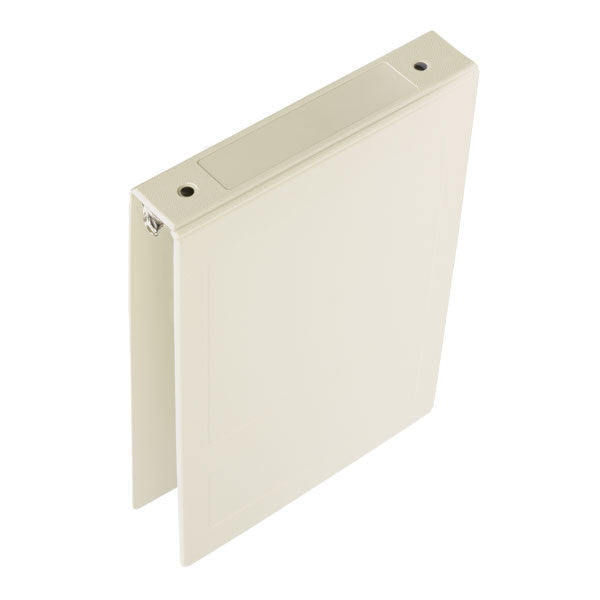 "1.5"" Top Open Molded Medical Ring Binder - Beige"