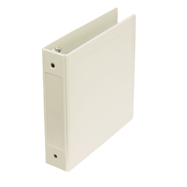 "2"" Side Open Molded Medical Ring Binder - Beige"