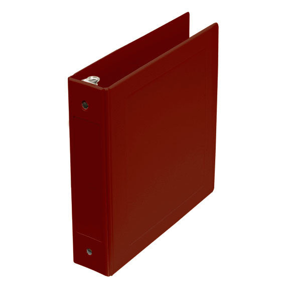 "2"" Side Open Molded Medical Ring Binder - Burgundy"