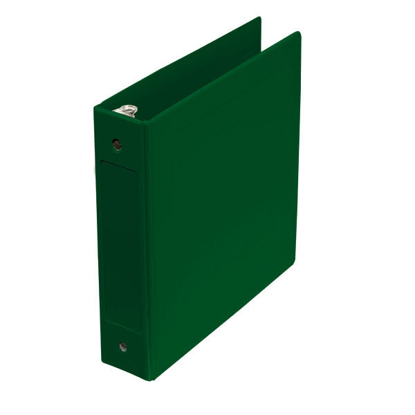 "2"" Side Open Molded Medical Ring Binder - Forest Green"