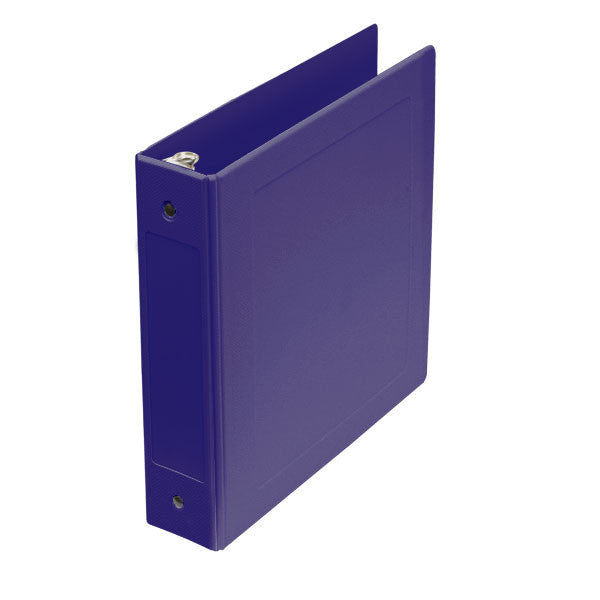 "2"" Side Open Molded Medical Ring Binder - Lilac"