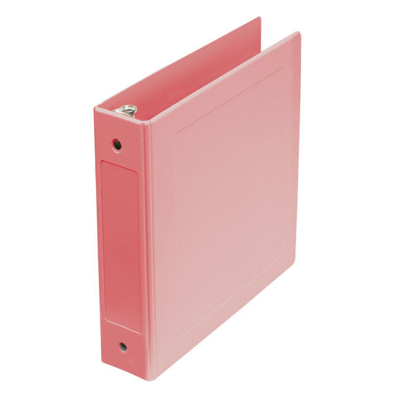 "2"" Side Open Molded Medical Ring Binder - Mauve"