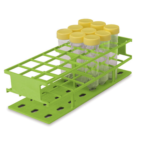 Full-Size 30mm Test Tube Racks - Green