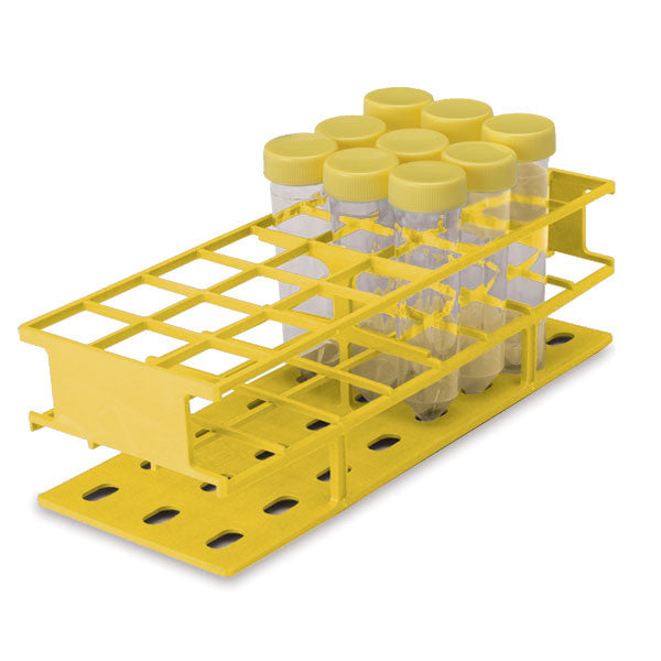 Full-Size 30mm Test Tube Racks - Yellow