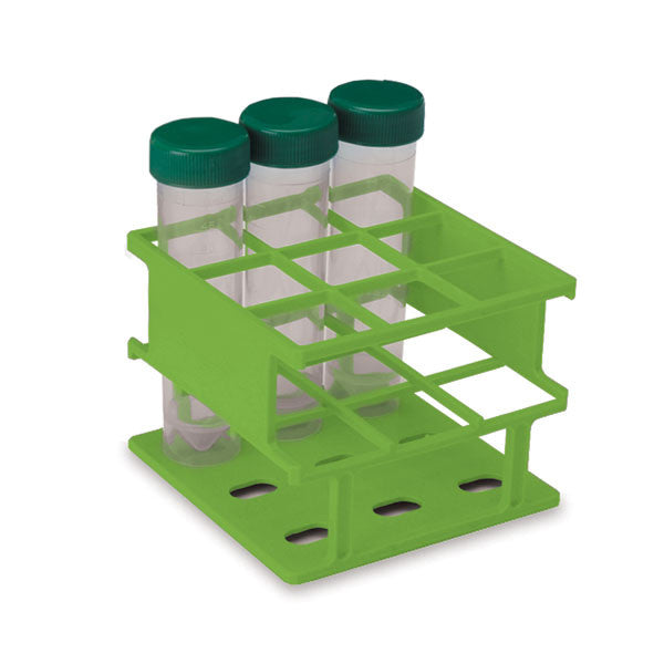 Half-Size 30mm Test Tube Racks - Green