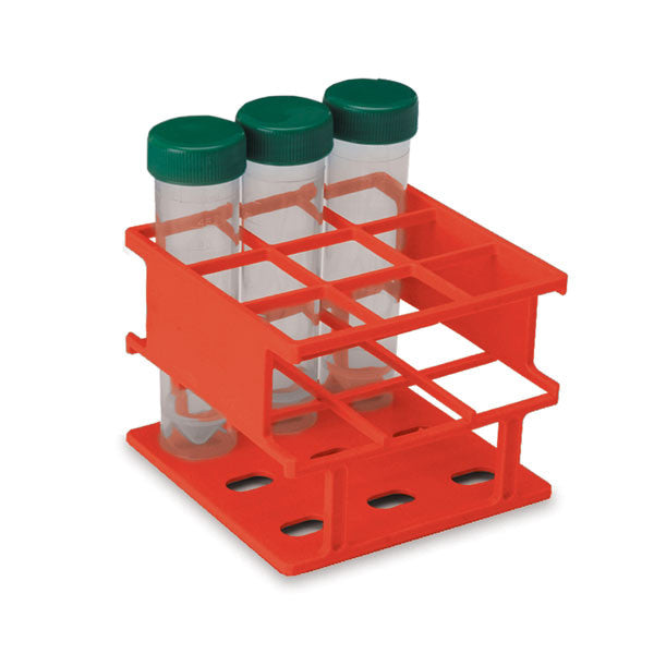 Half-Size 30mm Test Tube Racks - Red