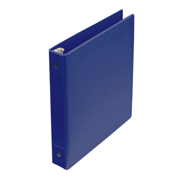 "1"" Side Open Molded Medical Ring Binder - Blue"