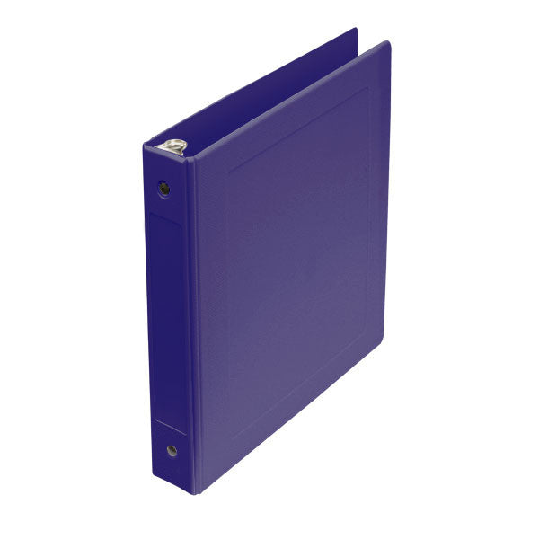 "1"" Side Open Molded Medical Ring Binder - Lilac"