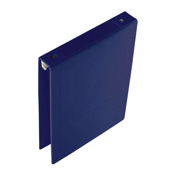 "1"" Top Open Molded Medical Ring Binder - Blue"