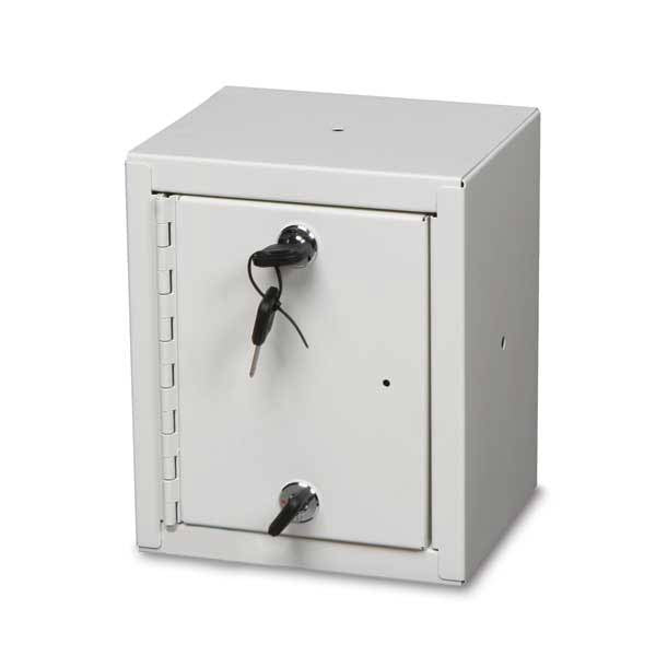 "Double Lock Narcotics Cabinet - 8.75""W x 6""D x 7.25""H"