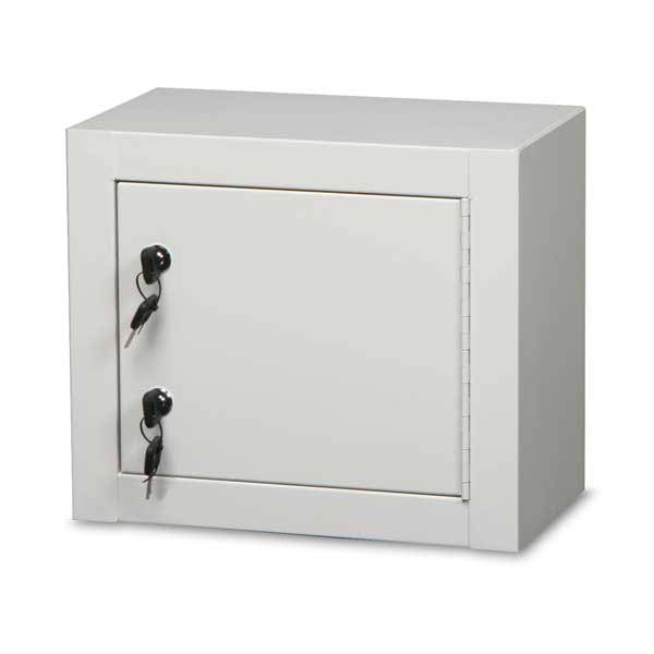 "Double Lock Narcotics Cabinet - 14""W x 8""D x 12""H"
