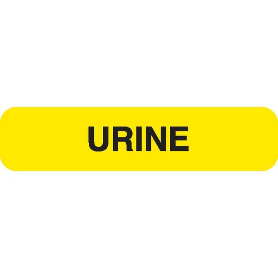 "Urine Collection Label - ""URINE"""