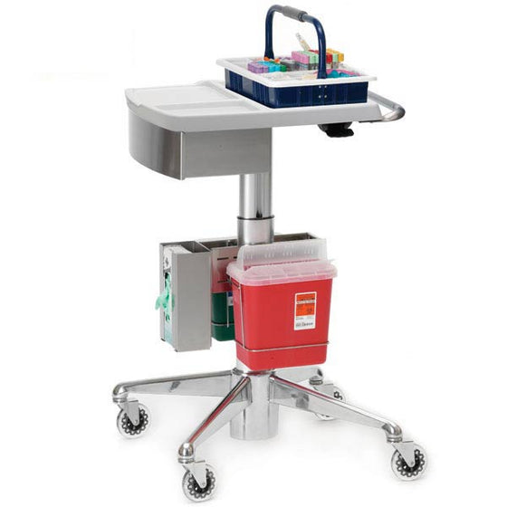 Go-Cart Deluxe Phlebotomy Cart