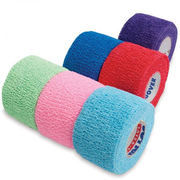 "CoFlex NL Self-Adherent Cohesive Multi-Color Bandage Roll Packs • 2""W • 36PK"