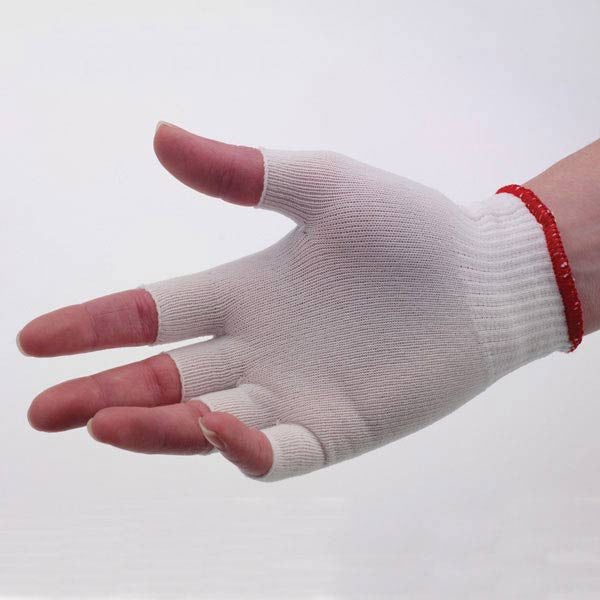 Half Finger Glove Liners - Women - Half Finger