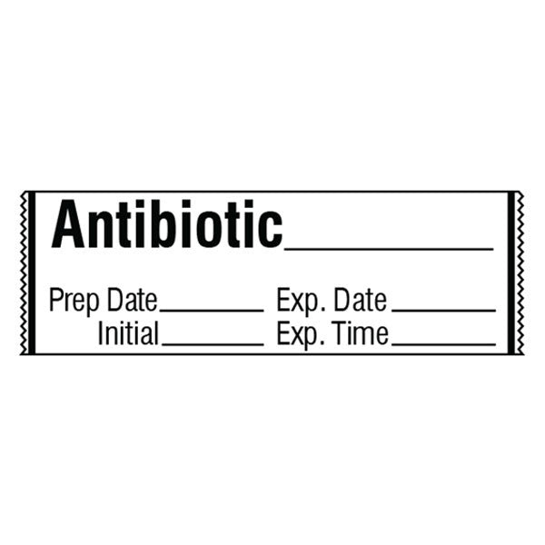 ANTIBIOTIC Medication Label Tape