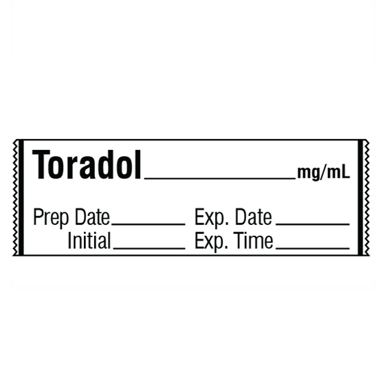 TORADOL mg/mL Label
