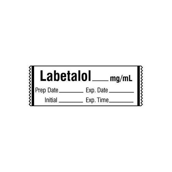 LABETALOL__mg/mL Medication Label Tape