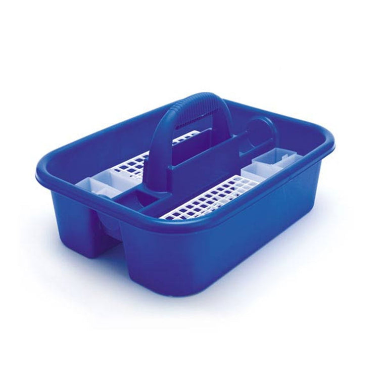 Blue Phlebotomy Tote - Standard - With bin cups and tube racks