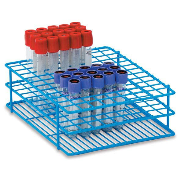 13mm Tube Rack for 3mL, 5mL, and 7mL Test Tubes - Large