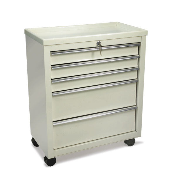 Bedside Medical Carts - 5 Drawers