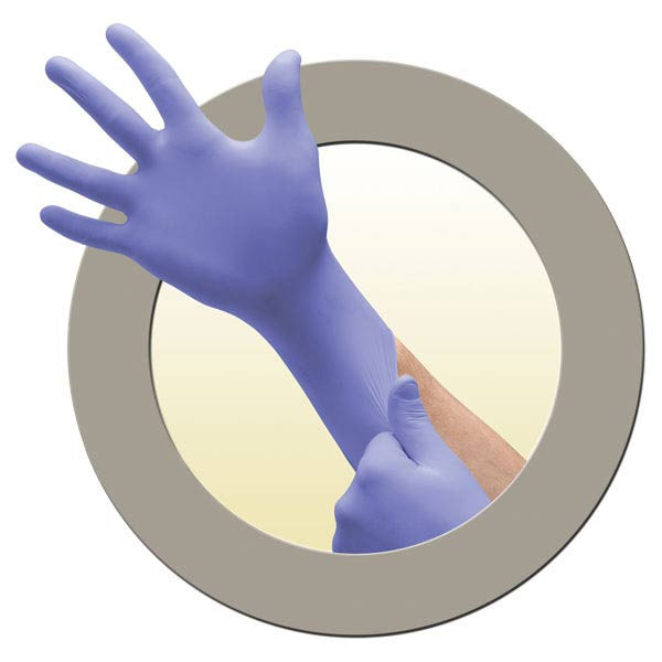 Microflex Supreno EC Extended Cuff Nitrile Exam Gloves - Medium