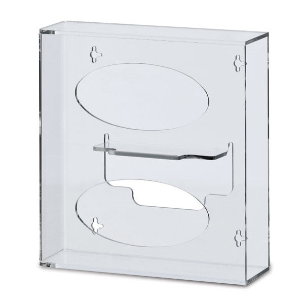 Slim Silhouette Glove Box Holder - Double