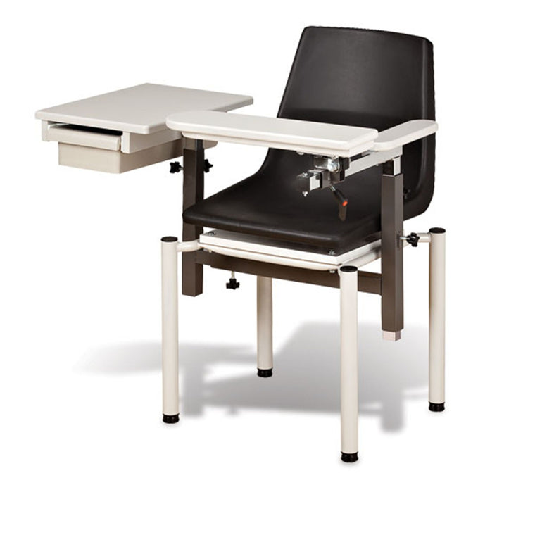SC Draw Chair with ClintonClean Armrests with Drawer